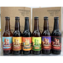 Cerveja Artesanal Burguesa, 12 cervejas