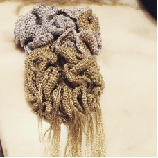 "Alfinete Medusa  ""Wave Collection"""