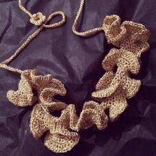 """Gargantilha dourada   """"Wave Collection"""""""