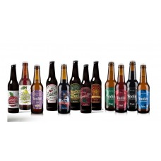 Cerveja e Sidra Artesanal Vadia, 12 garrafas 33cl
