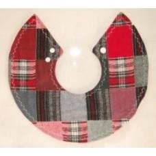 Gola em tartan escocês