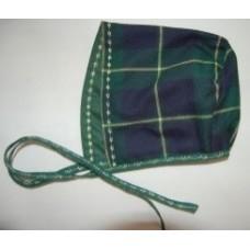 Touca em tartan escocês